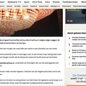 Kroonluchterverhuur In De Media Gelderlander 300x300